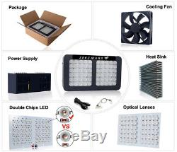 ZEEZ MARS 300With600With900With1200W LED Grow Light Full Spectrum with Timer Plant Bloom